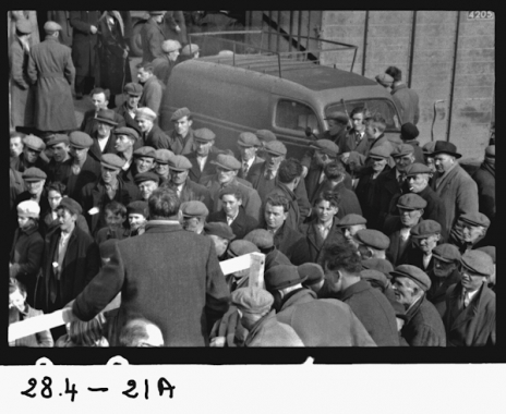 Election Rally 1957 in Kinvara